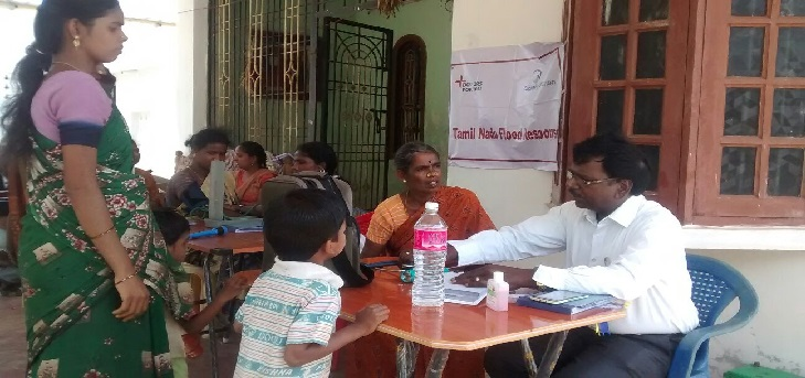 <p>DFY Tamilnadu team in medical camp supported by CIPLA Foundation</p>