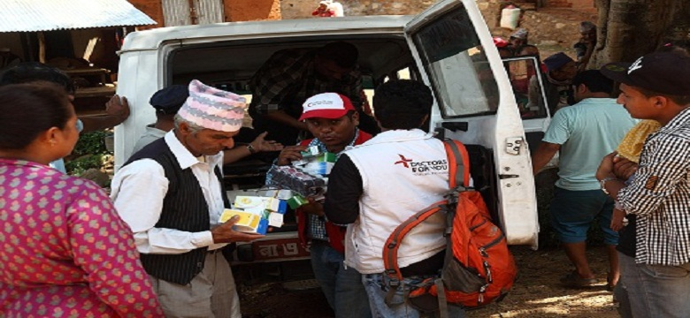 <p>Mobile Medical Unit of DFY is accessing the population in remote regions of Nuwakot district, Nepal.</p>
