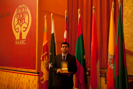SAARC Award 2009 for Disater Relief work